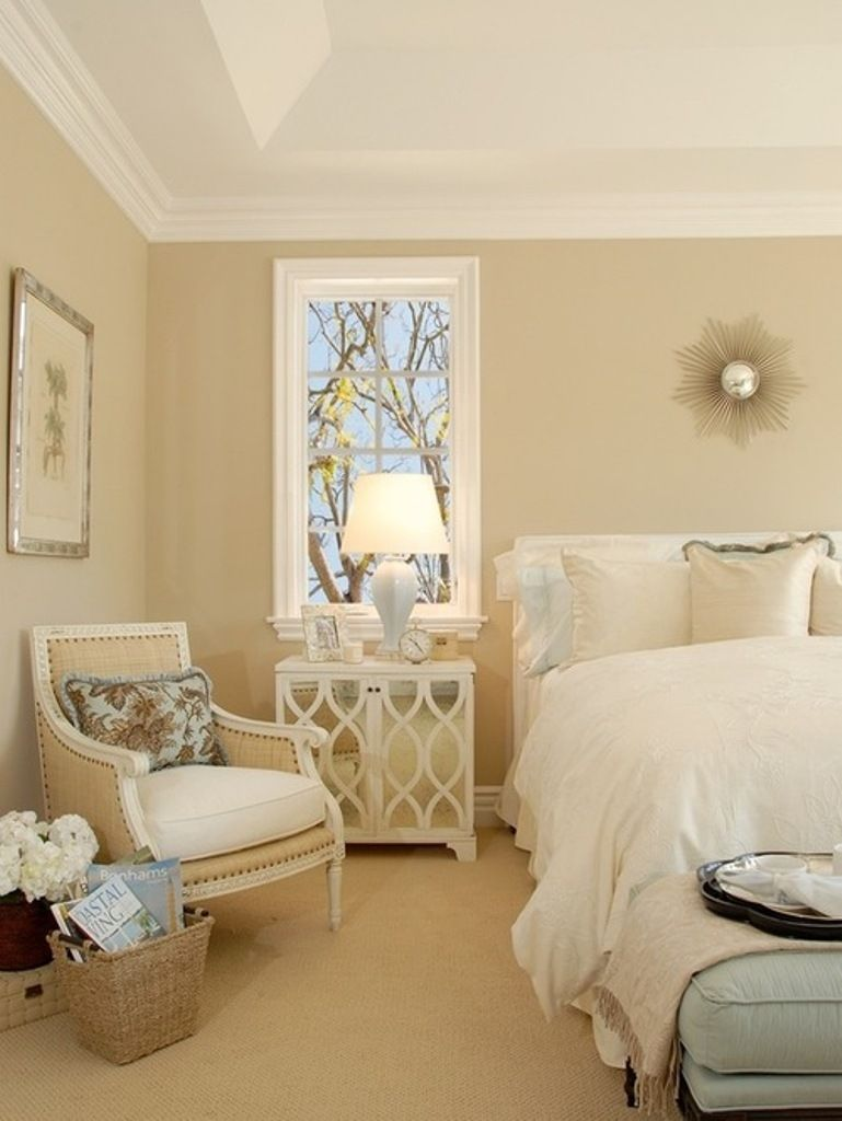 perfect guest bedroom decorations 2017 beige wall color