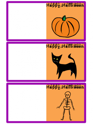 image about Printable Halloween Cards identified as Children Halloween Card Absolutely free Printable Playing cards Absolutely free printable