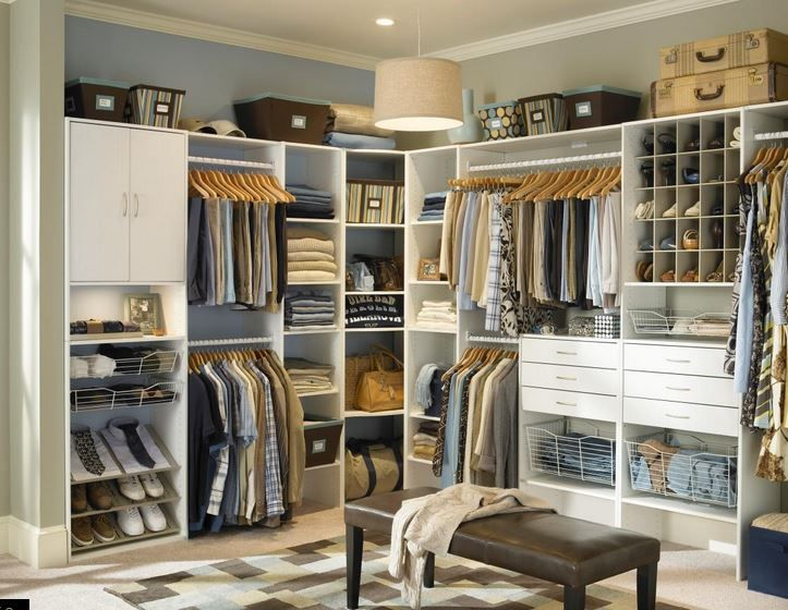 Vestidores modernos buscar con google vestidor pinterest vestidor armarios y vestidores - Organizar armarios empotrados ...