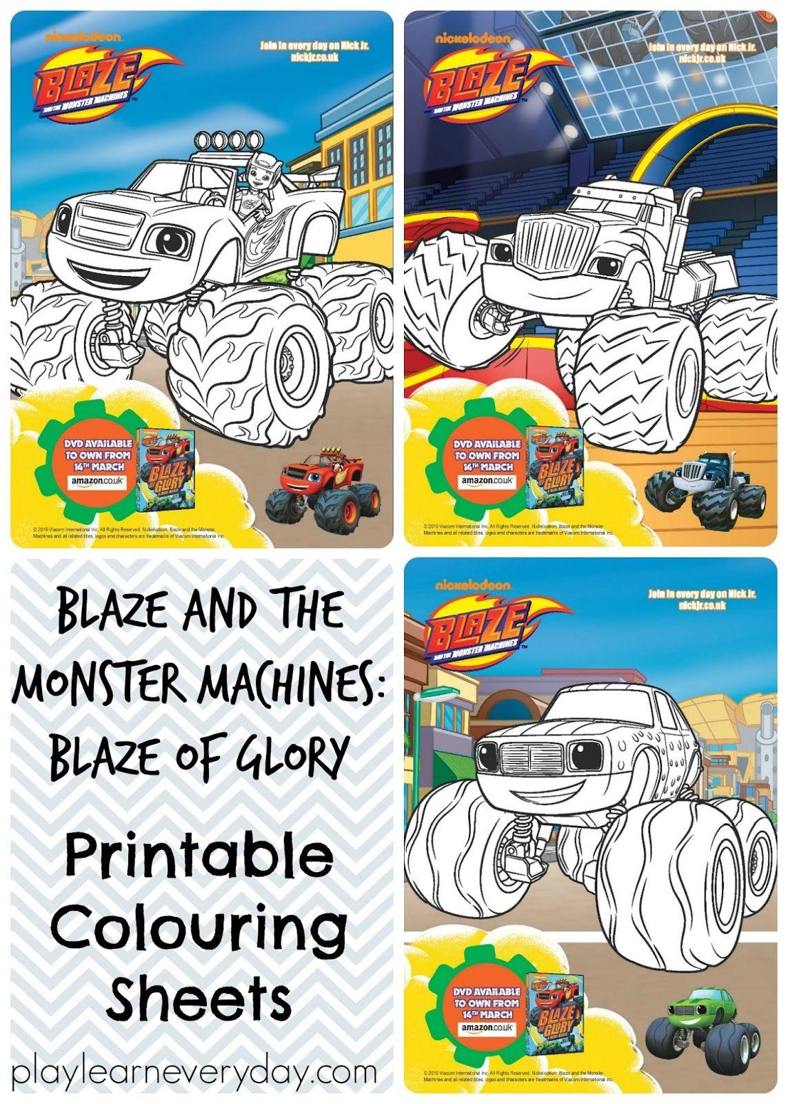 Blaze and the Monster Machines: Blaze of Glory | Fiestas