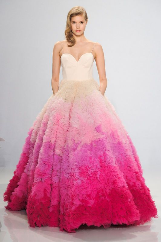 Christian Siriano for Kleinfeld wiosna 2017, fot. Imaxtree | 2016 ...