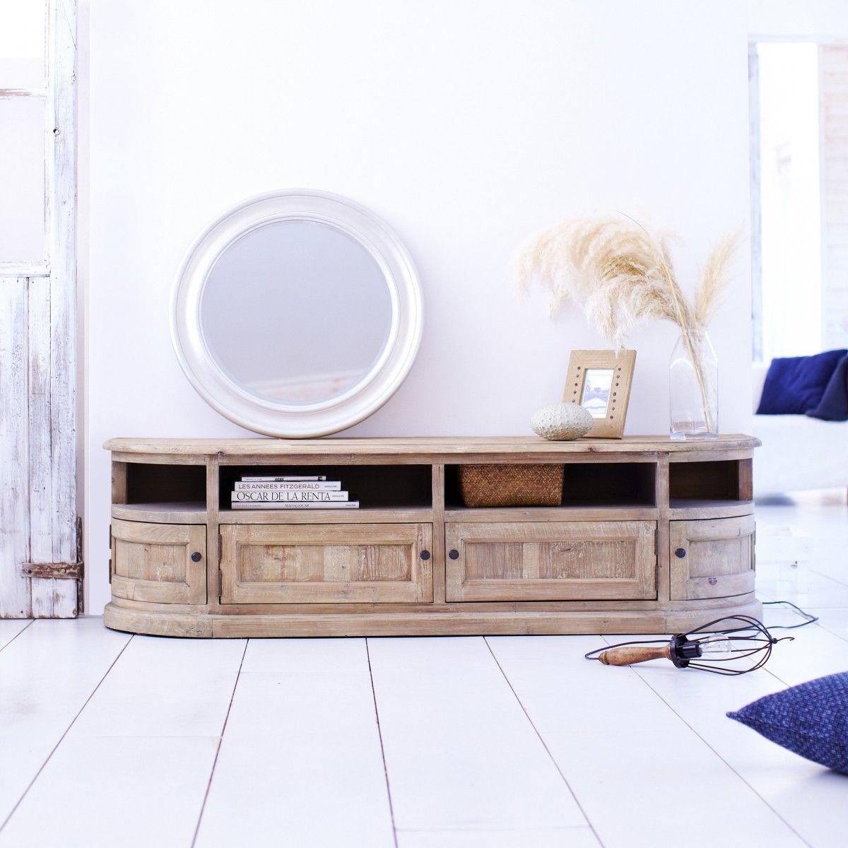 Meuble Tv En Pin 180 Celeste Les Salon Salon Et Meubles # Meuble Tv En Pin Couleur Miel