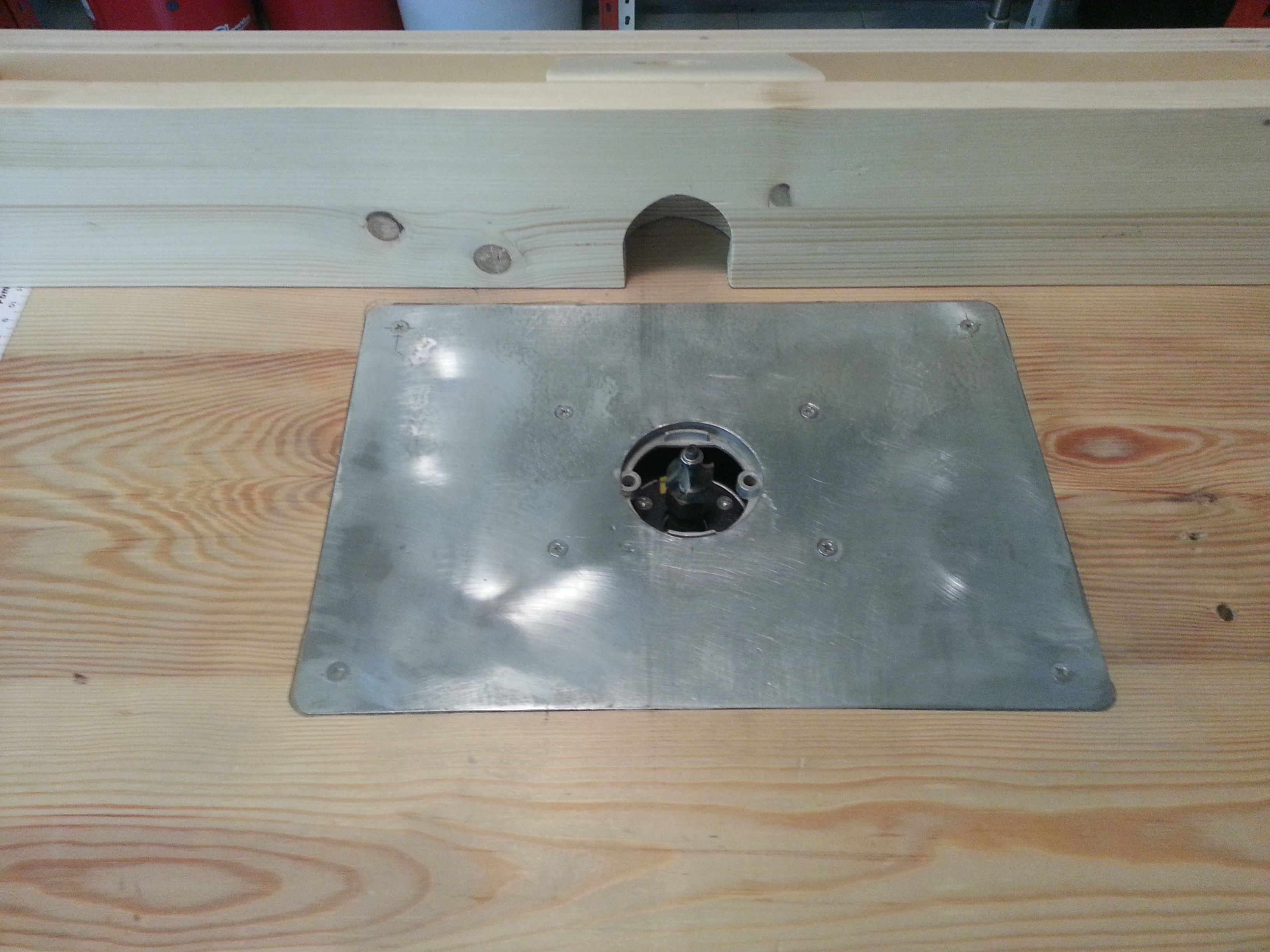 Homemade router table top  router table  router table  Pinterest  Router table