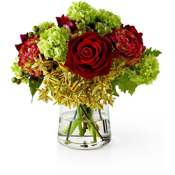 Ndi rose ranunculus faux floral arrangement 450 liked on shop rose ranunculus faux floral arrangement from ndi at horchow where youll find new lower shipping on hundreds of home furnishings and gifts mightylinksfo