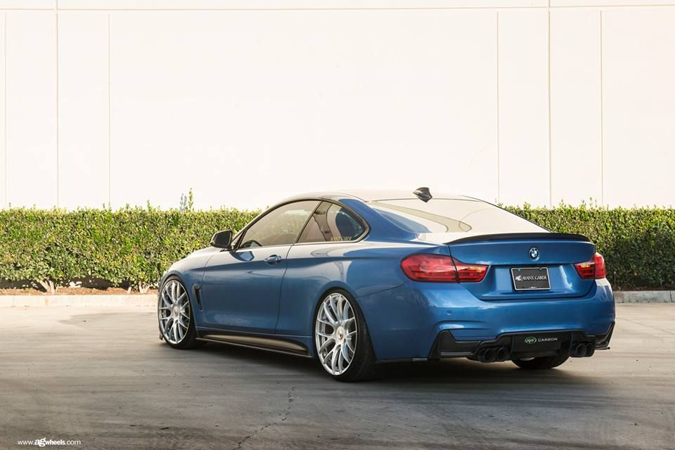 19 zoll avant garde wheels m410 bmw 435i f32 coupe tuning #wheelporn