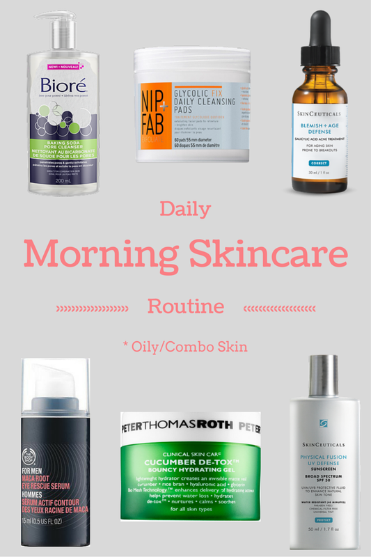 Daily Morning Skincare Routine Oily Skin Oily Skin Care Routine Skincare For Oily Skin Healthy Skin Routine