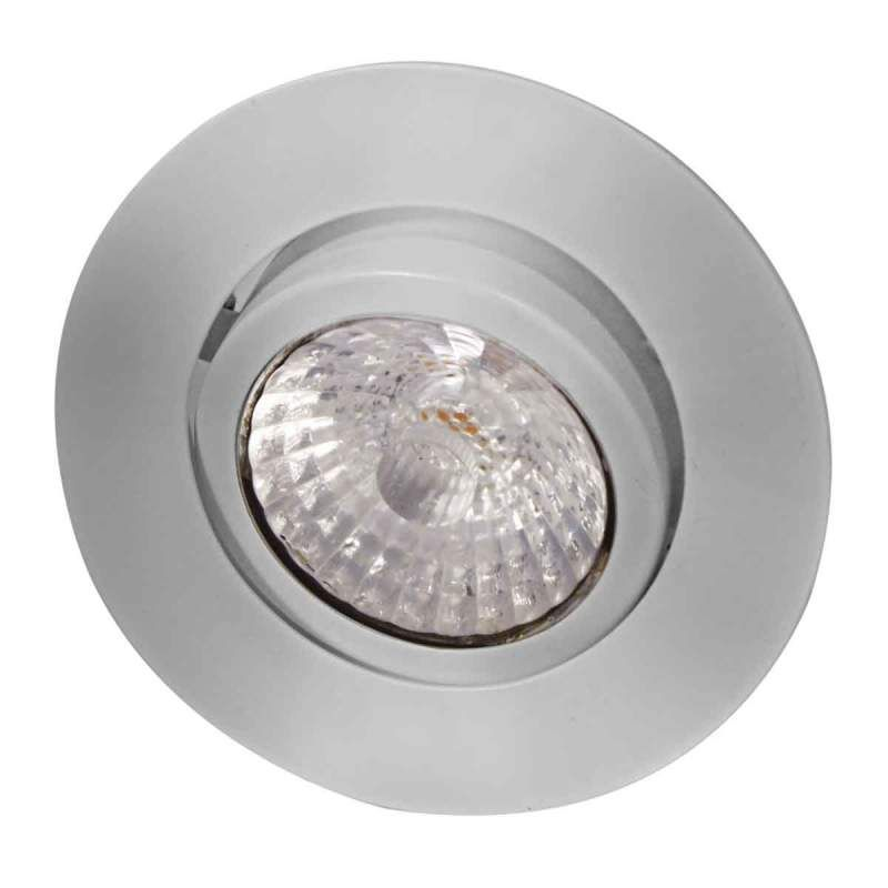 Led Inbouwspot Rico Dim To Warm Geb Staal Led Gloeilampen Staal