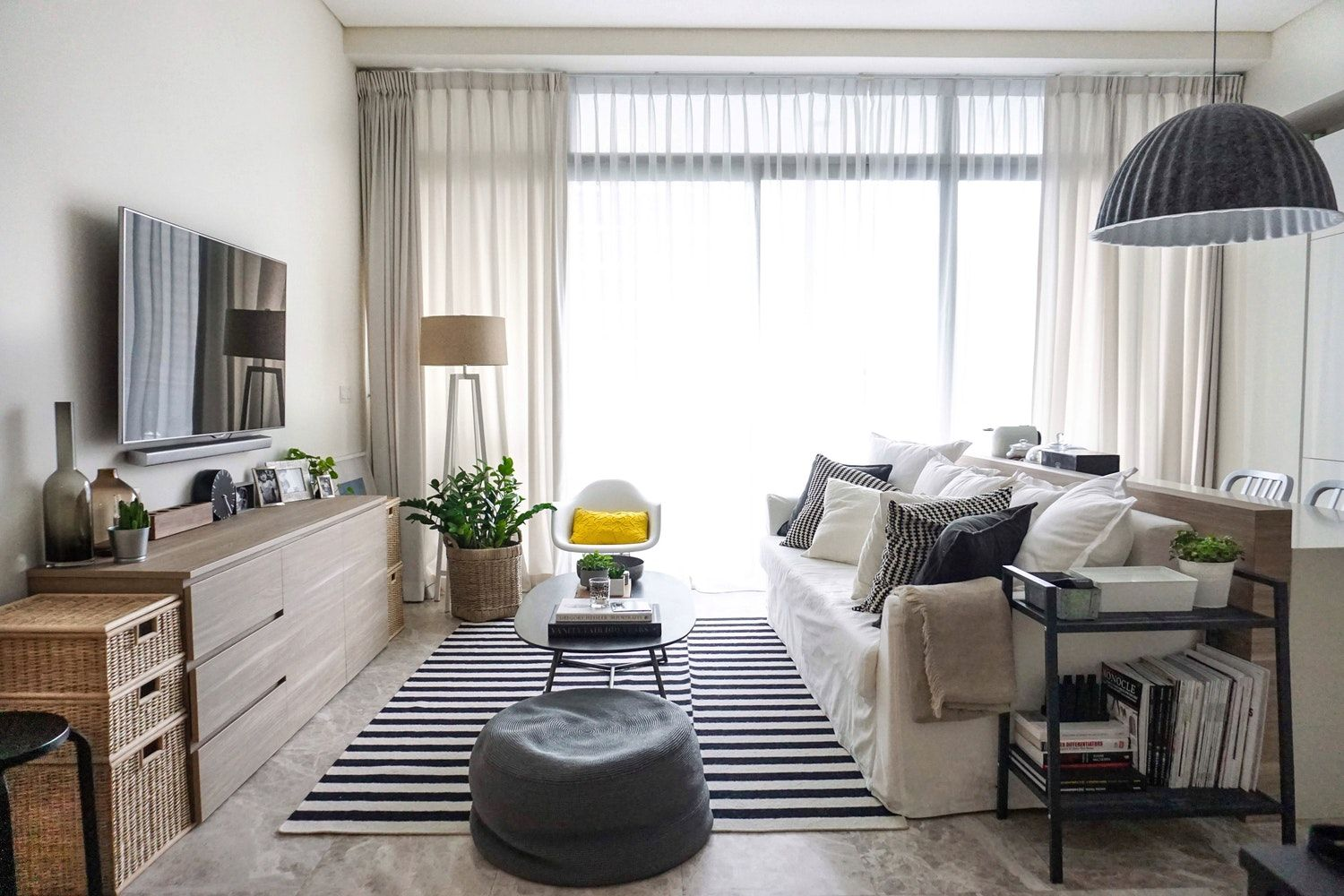 a peek inside a polished condo in singapore | clutter, singapore