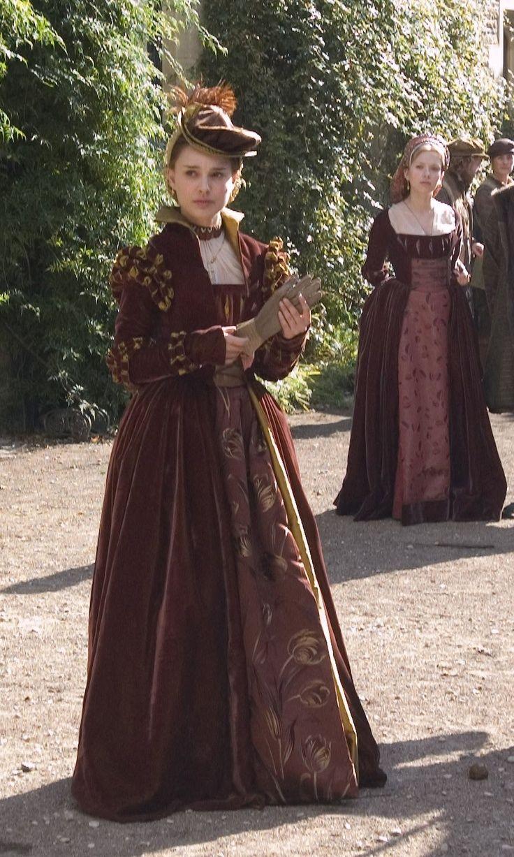 Natalie Portman as Anne Boleyn in \