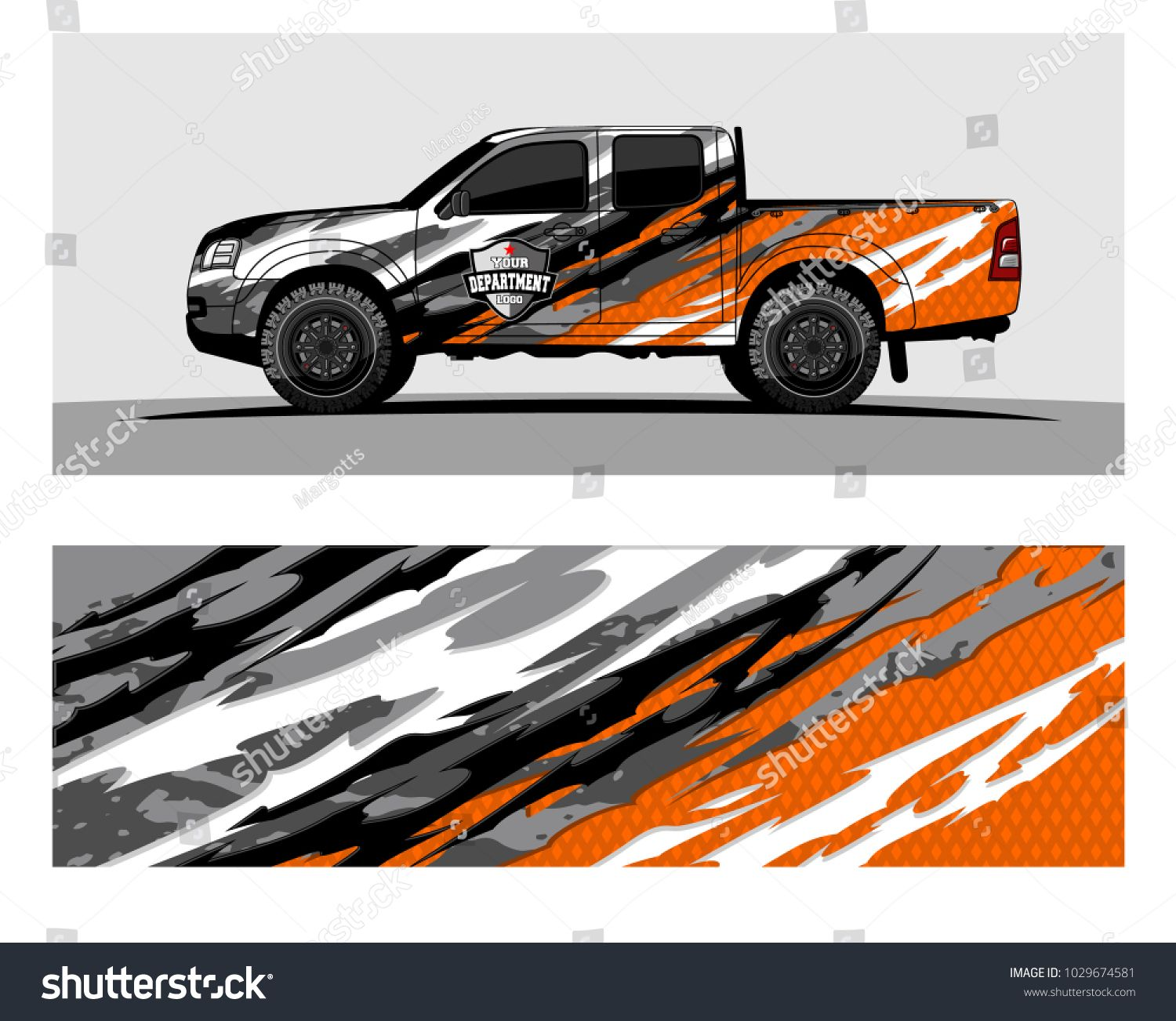 Truckcar and vehicle racing graphic kit background for wrap and vinyl sticker