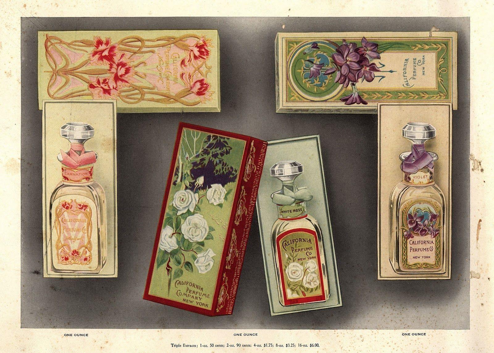 vintage perfume ads | FREE ViNTaGE DiGiTaL STaMPS**: Vintage Printable - Perfume Bottles