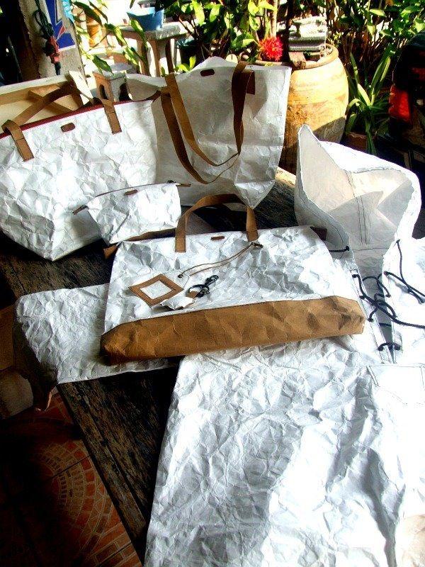 Paperbag writer