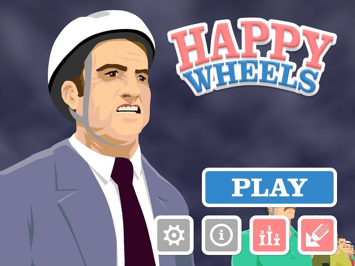 Happy Wheels iPad iOS App Review Iphone games, Ipad ios, App