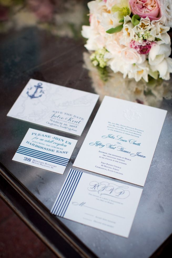 invitations to wedding%0A Nautical Wedding Invitations and wedding at Harborside East  Alice Keeney  Photography