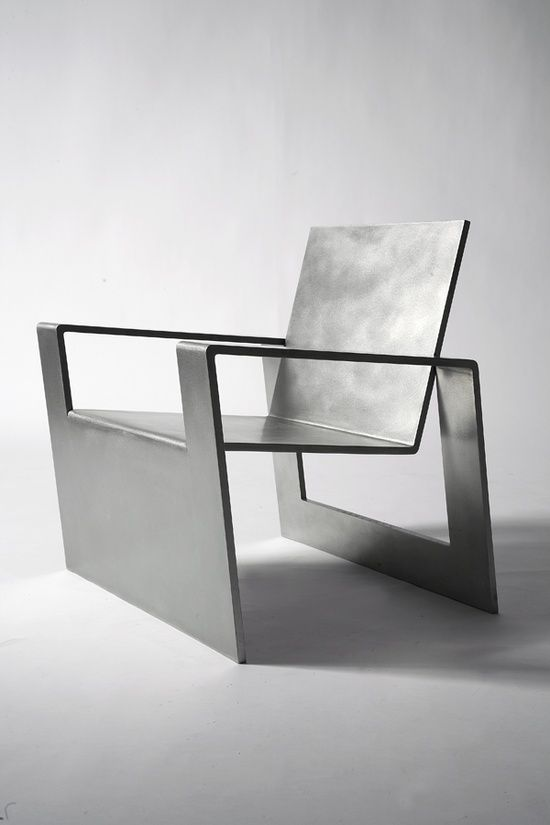 Cool Metal Chair Stuhl Chaise Design Forrest Myers