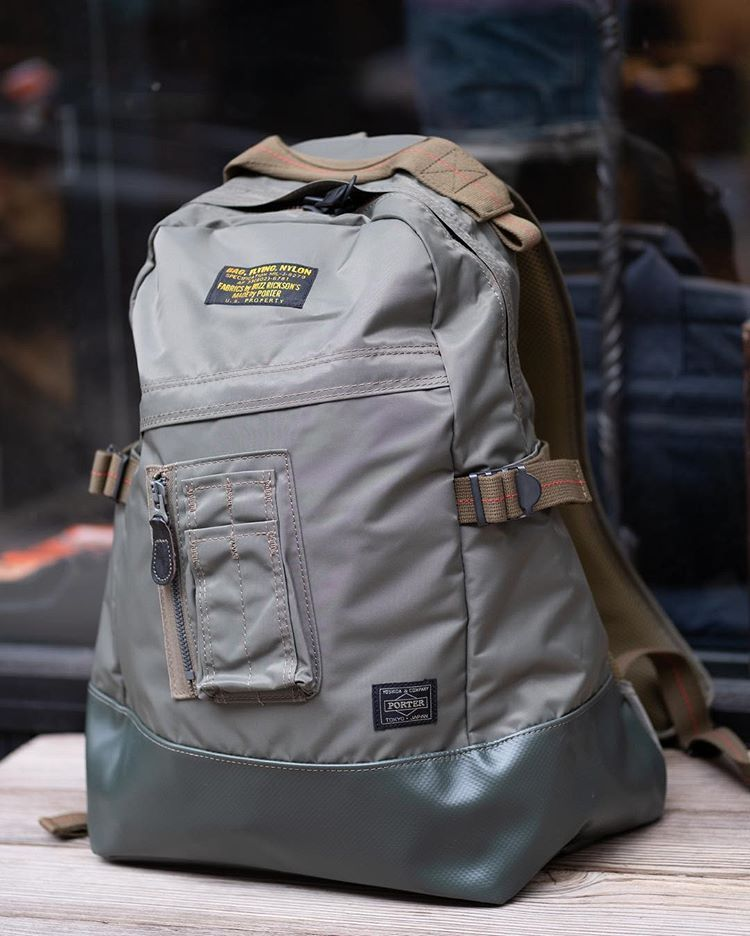 ec2b9d05a0 Buzz Rickson have come together with Japan s famed Porter Yoshida to  produce one beautiful backpack. The materials are provided by Buzz…