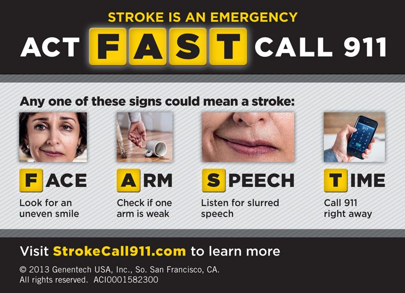 May is Stroke Awareness Month Senior health, Month signs