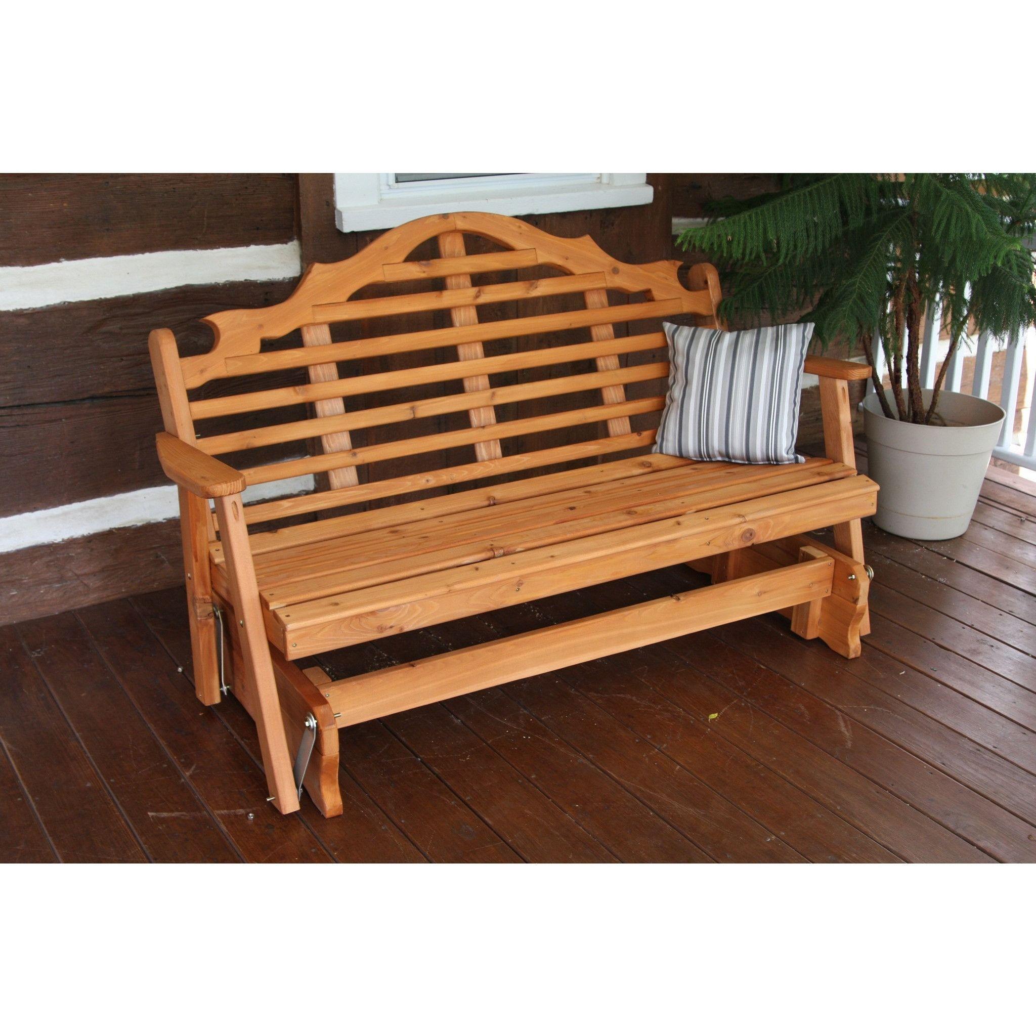 a l furniture co western red cedar 6 marlboro glider ships rh pinterest co uk