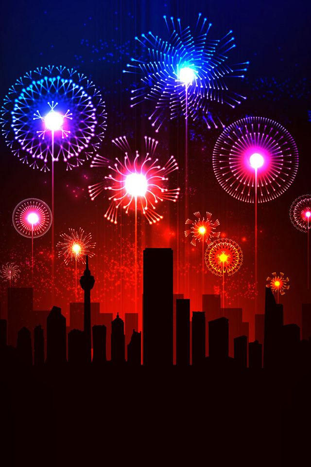 Lovely Happy New Year 2016 Iphone 5 Wallpapers