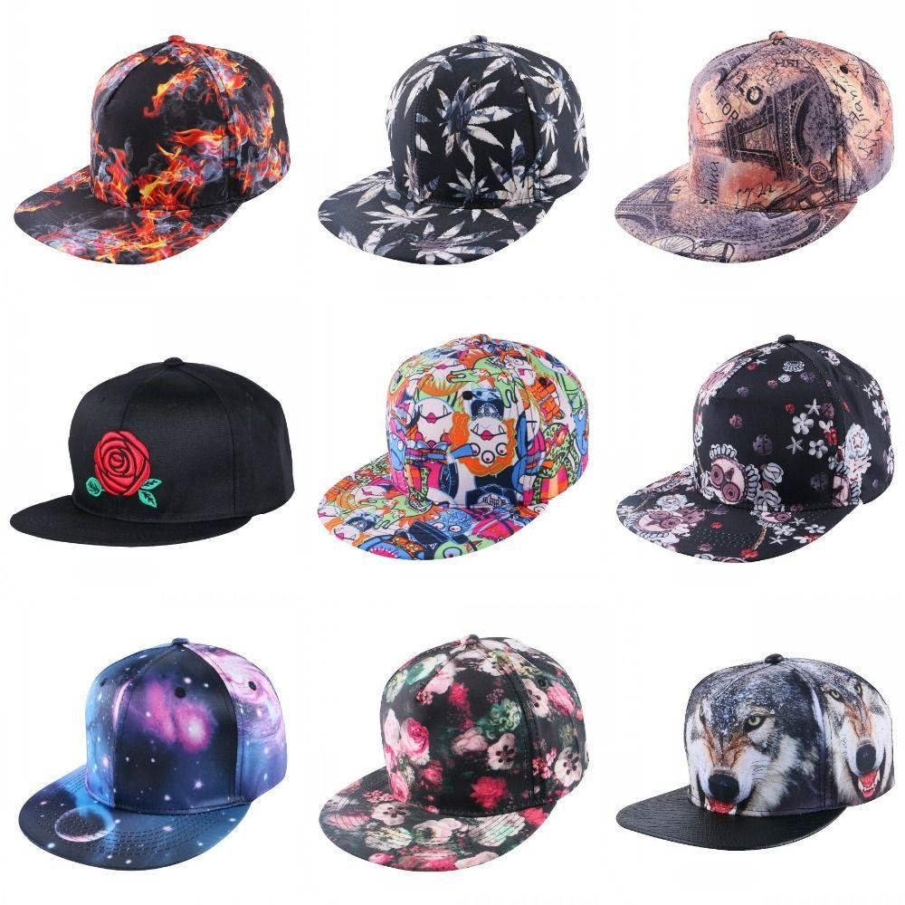 Cheap Mujeres al por mayor de los hombres populares gorra de béisbol patrón  de cáñamo print 22cc84d4ab5