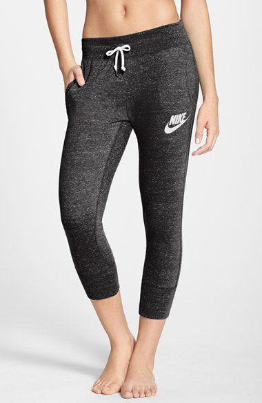 Instagram: @_claudia_rocha_  Pinterest: @claudiar91 Nike 'Gym Vintage' Capri Sweatpants | Nordstrom