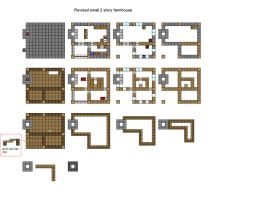 Minecraft Houses Blueprint
