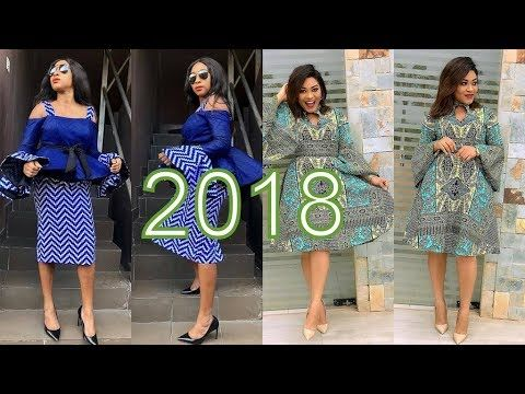 3678f797da45 AFRICAN DRESSES 2018 DESIGNS   BEST COLLECTION FOR AFRICAN WOMEN ...
