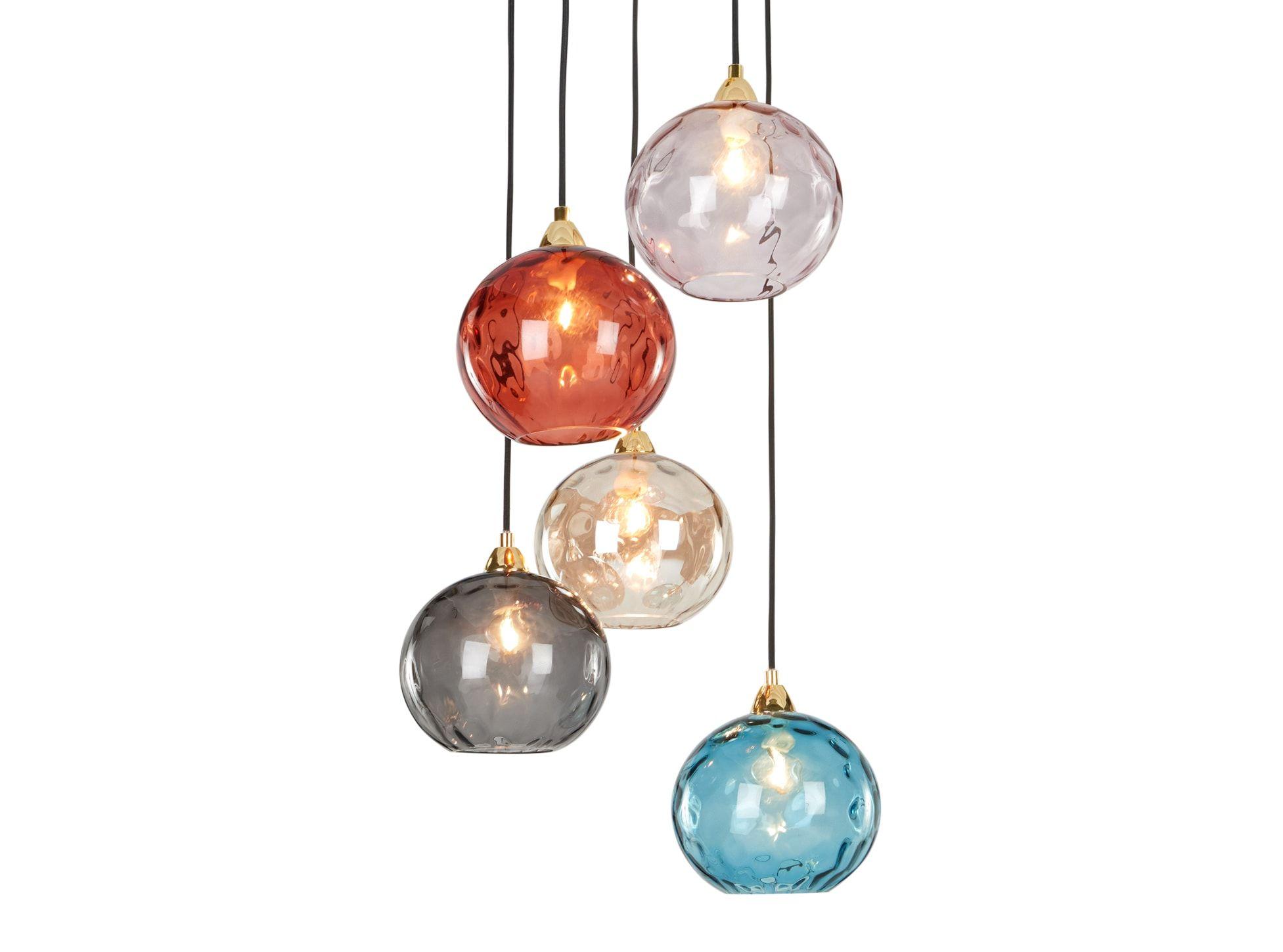 Made Multi Colour Pendant Cluster Light Ceiling Light
