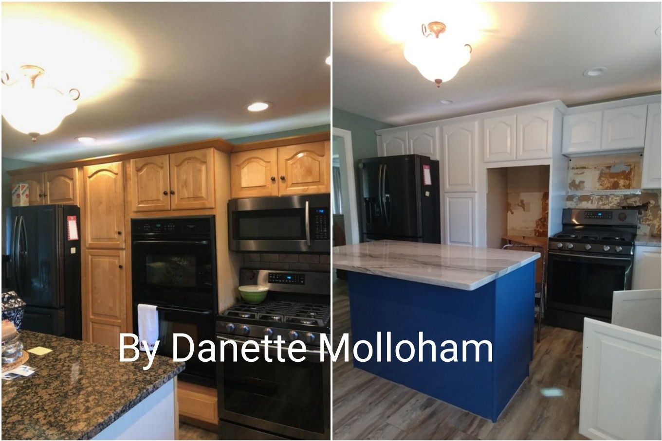 #Behr cabinet paint is the best! | Painting cabinets ...