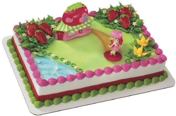 strawberry shortcake cake kit Google Search Birthday Cakes
