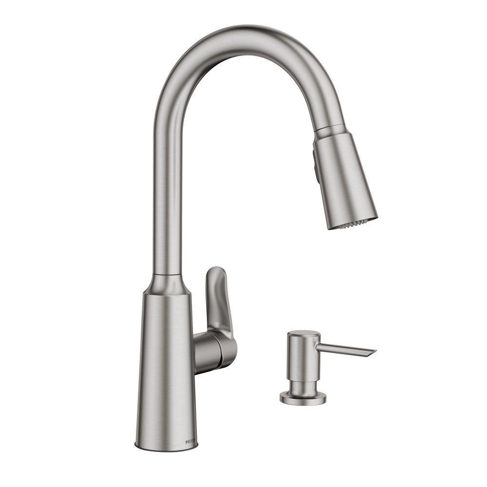 Moen Edwyn One Handle Pulldown Kitchen Faucet Kitchen Faucet