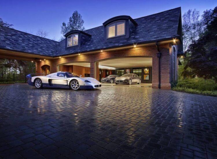 40 Best Detached Garage Model For Your Wonderful House 34 Garage Design Luxury Garage Garage Plans