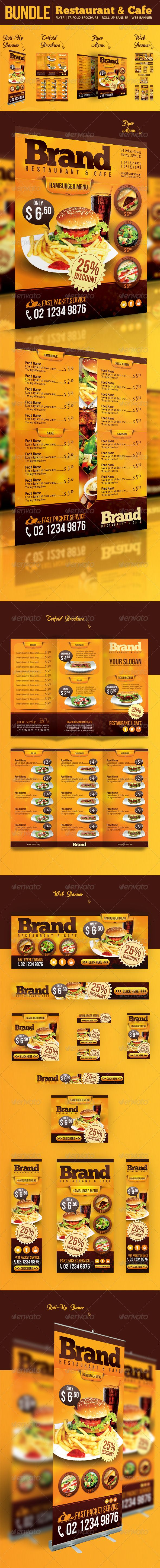restaurant cafe bundle restaurants design and food webs