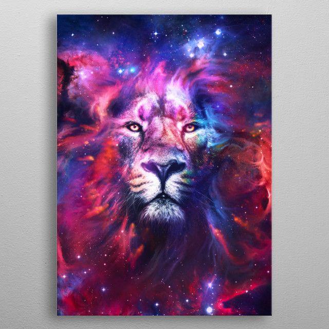 'Lion Nebula' Poster Print by nogar007    Displate