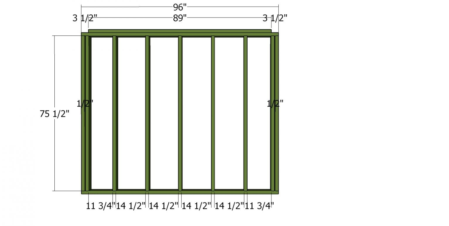 5x8 Lean to Shed Plans Free PDF Download