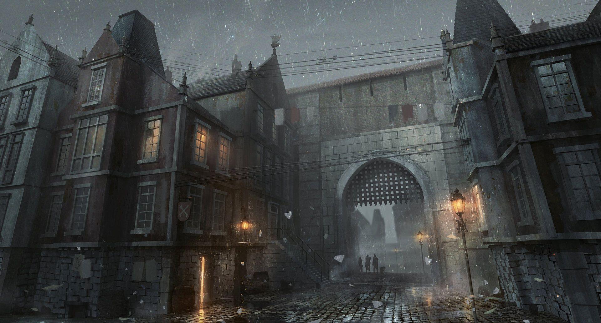 ArtStation - City of Camorr, Bram Sels