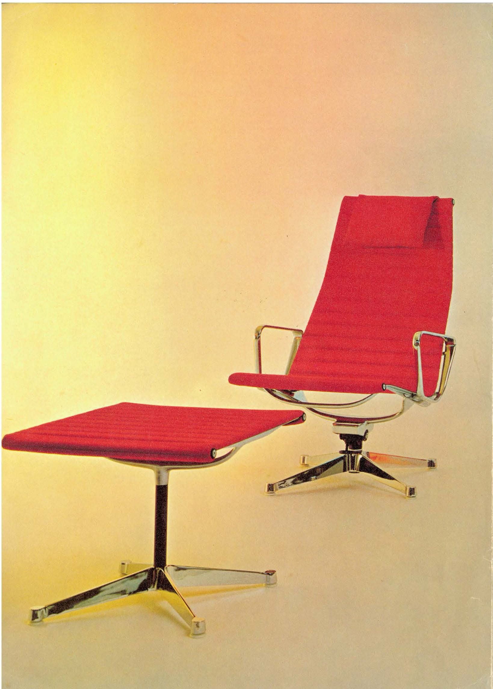 1969 eames aluminum group made in europe by fehlbaum operating as rh pinterest com