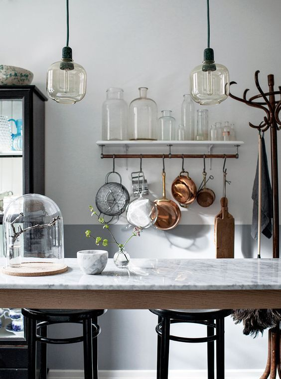 Stylish And Rustic Kitchen Design!