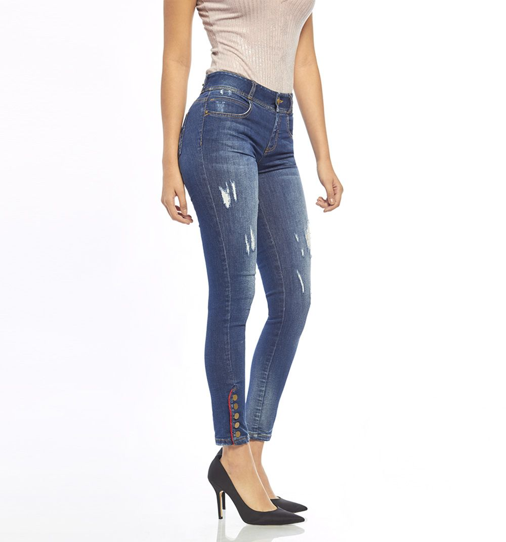 Ultraslim Jeans With Button In Boot Studio F Comprar Ropa Por Internet Ropa Ropa Por Internet
