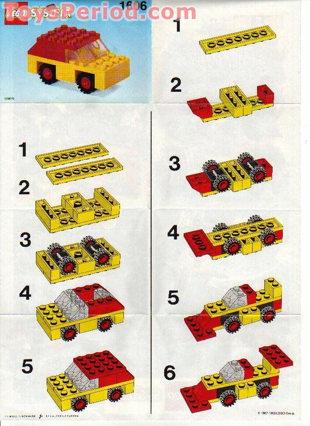 Vintage LEGO instructions. Lego instructions, Lego for