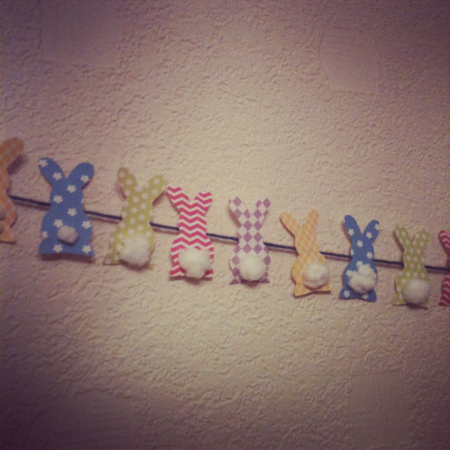 diy spring easter bunny bunting banner best bunting banner and