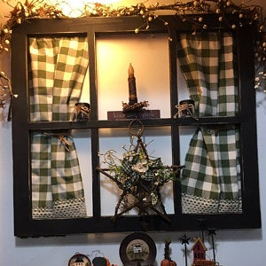 Hand Made 6 Pane Window Frame 26 Tall X 29 Wide Etsy Old Window Decor Window Frame Old Window Frames