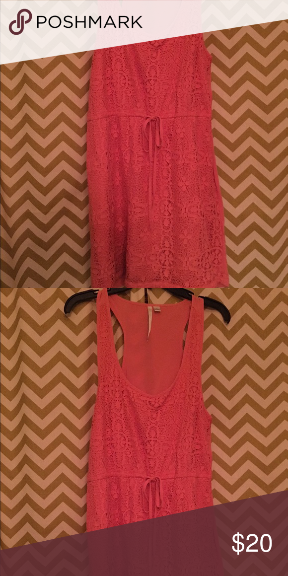 Lauren Conrad XL dress Racer back dress with tie. LC Lauren Conrad Dresses Midi