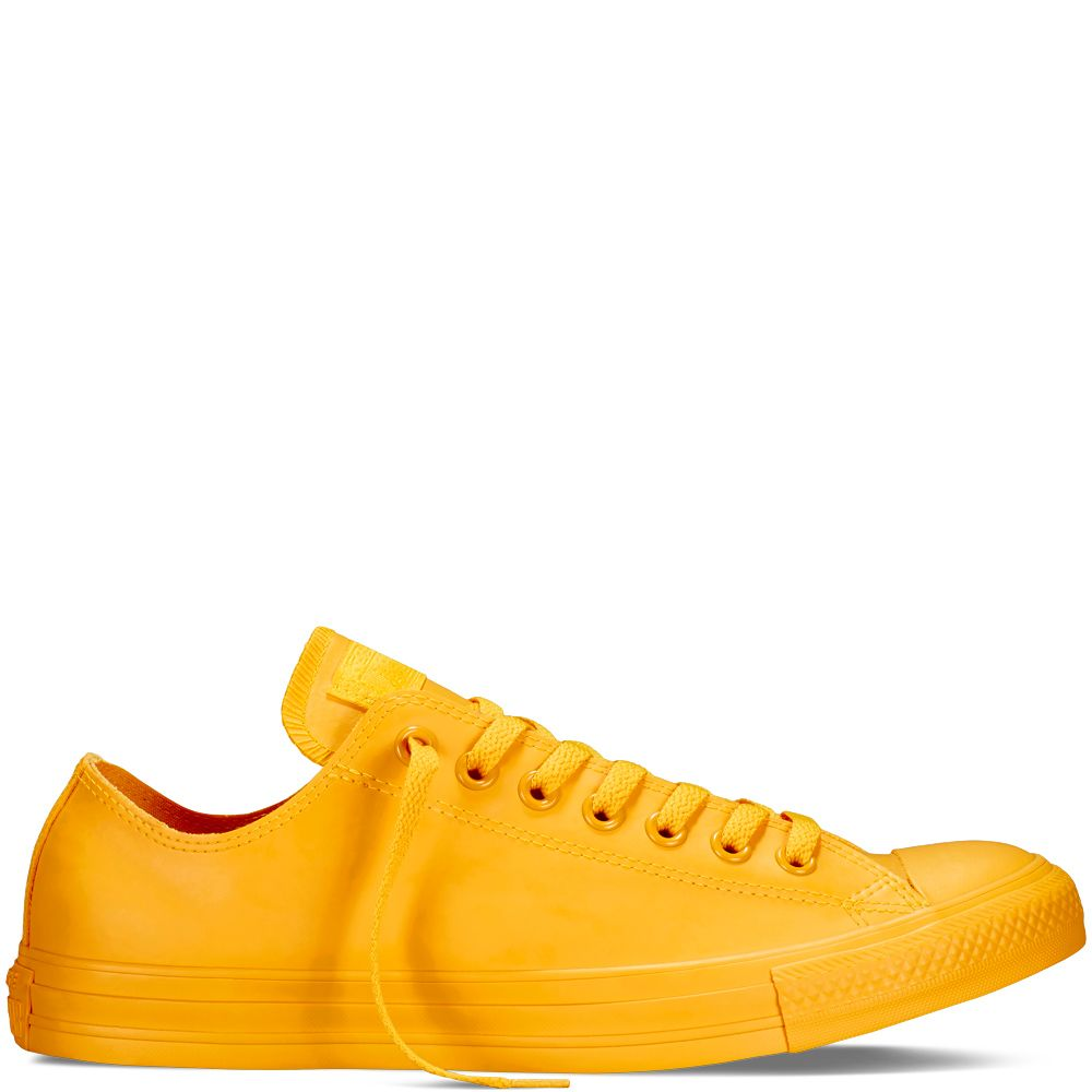 Chuck Taylor All Star Rubber Yellow yellow