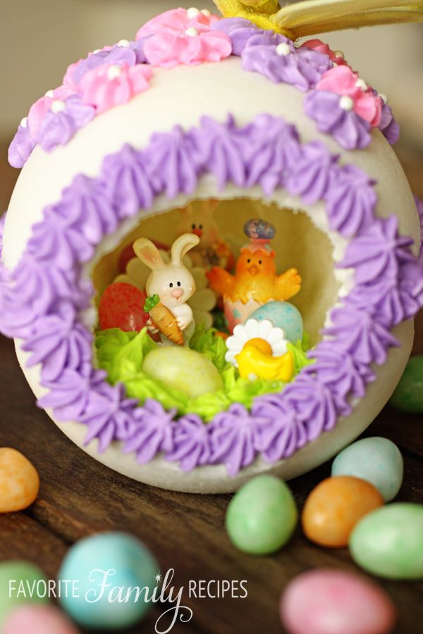 You are going to love these eggs my husband and i made these for panoramic sugar easter eggs negle Images