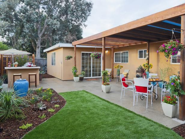 15 before and after backyard makeovers for the home backyard rh pinterest com