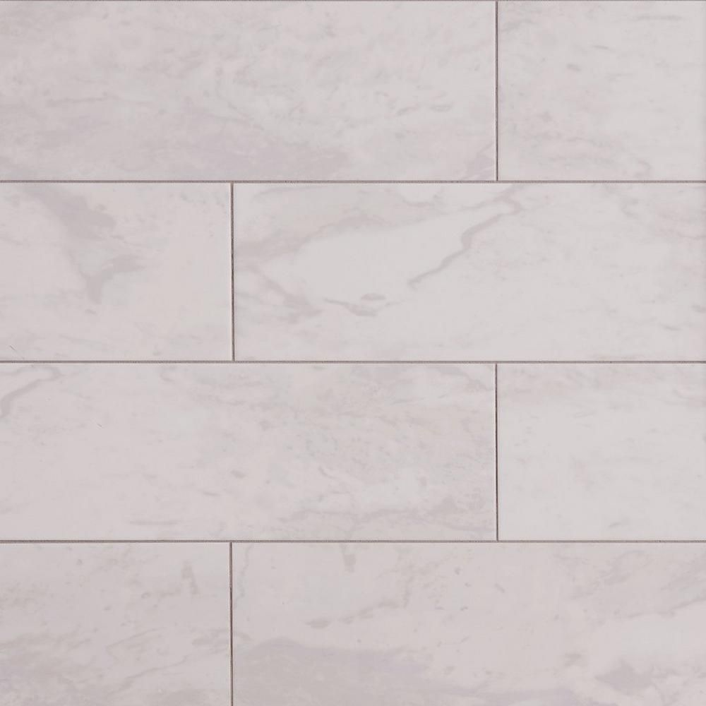Classic carrara ceramic wall tile 8in x 24in 100189109 floor classic carrara ceramic wall tile 8 x 24 100189109 dailygadgetfo Image collections