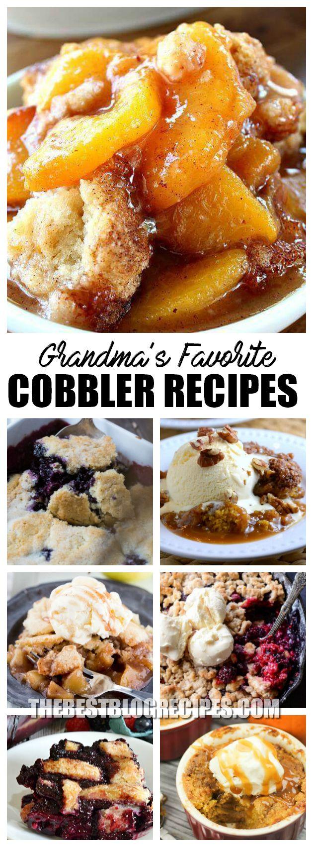 Best Fruit Cobbler Recipes | The Best Blog Recipes