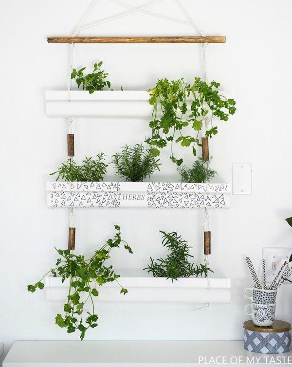 17 macetas diy para decorar en primavera peque os for Jardin vertical pequeno