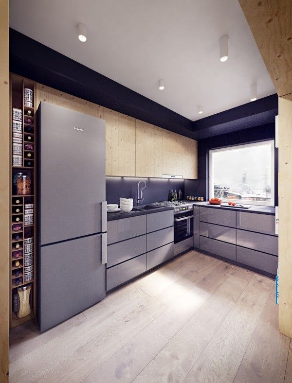 Must Have Elements For A Dream Kitchen: 2 Sunny Apartments With Quirky Design Elements